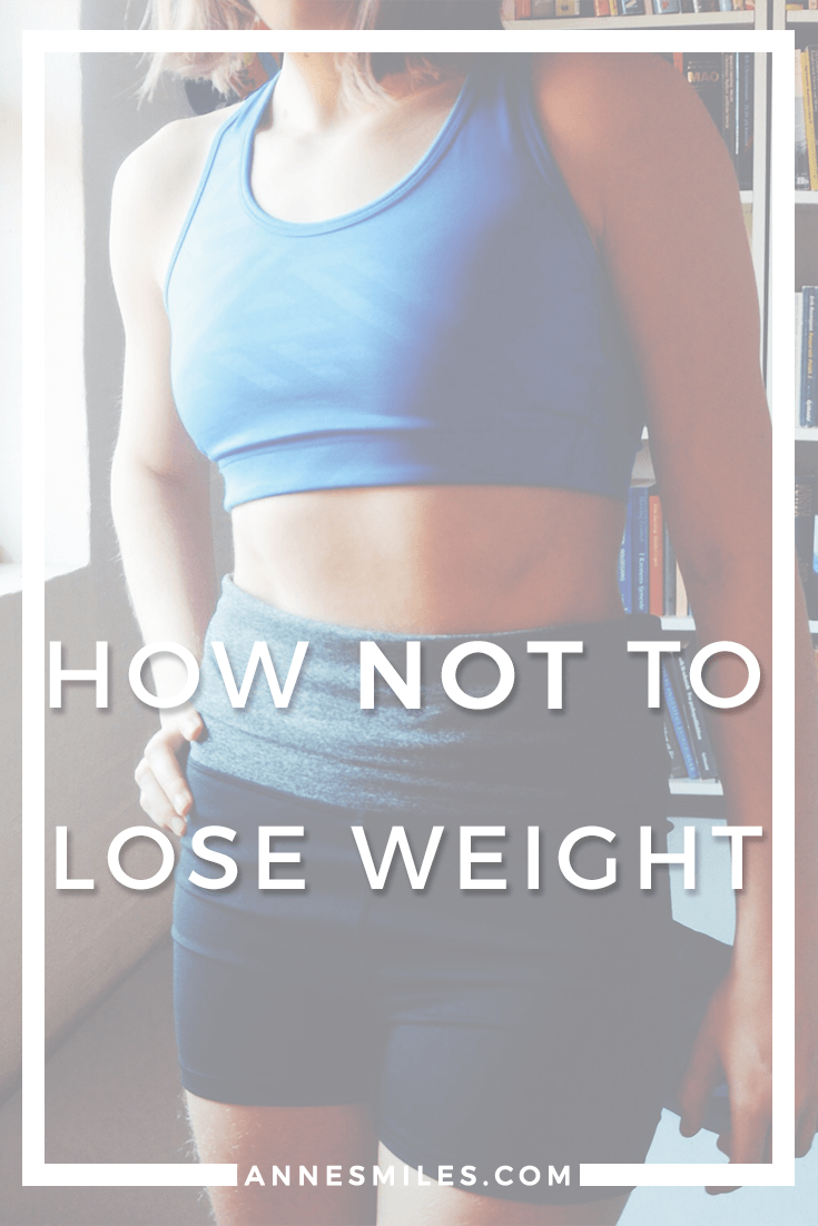Don\'t make these mistakes - stick to the methods that gives you real, sustainable weight loss. Click through to read more, or repin to save for later!