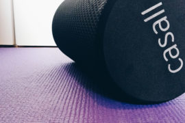 Meet my foam roller. Some people call it a torture instrument, but I call it my personal massage therapist. Here's why you should get a foam roller || Click through to read more, or repin to save for later!