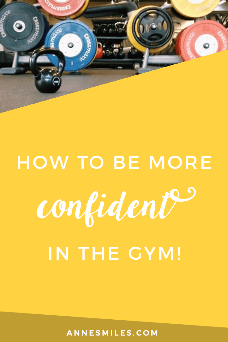How to be more confident in the gym    The weights room at the gym can seem intimidating to somebody just starting out. Here's how I get over the gym anxiety. Click through to read more, or repin to save for later!