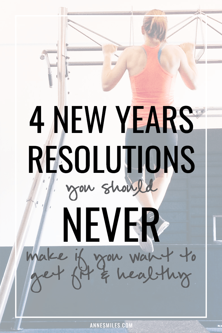 New year's resolutions you should NEVER make || Resolutions don't really change much from year to year, and the majority fails. I think it's because people set unrealistic goals, so WHEN they fail, they give up completely. That's why I came up with some alternative, more realistic new year's resolutions in this post. || Click through to read more, or repin to save for later!