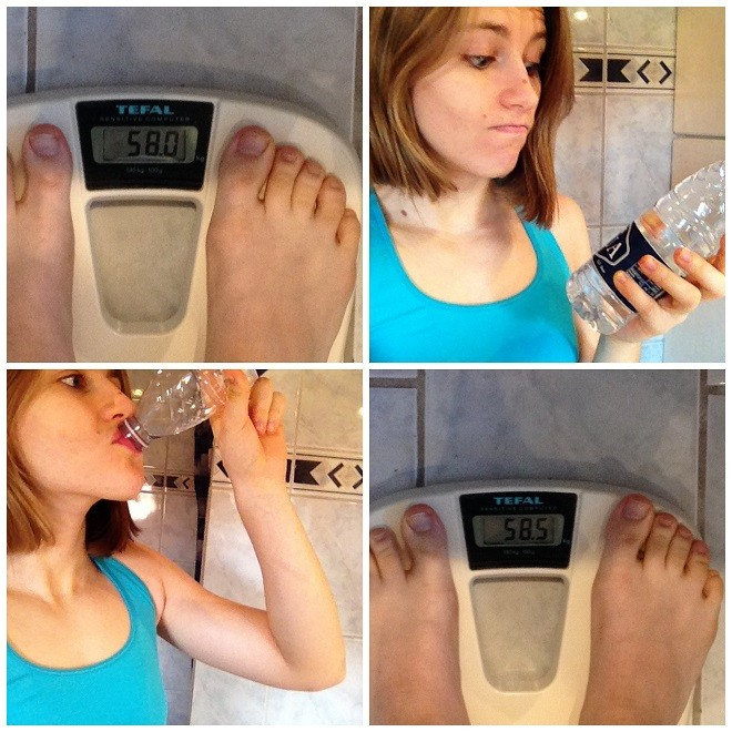 Daily weight fluctuations experiment    Do you know how much your weight can change, just in the course of a single day?    Click through to read more, or repin to save for later!