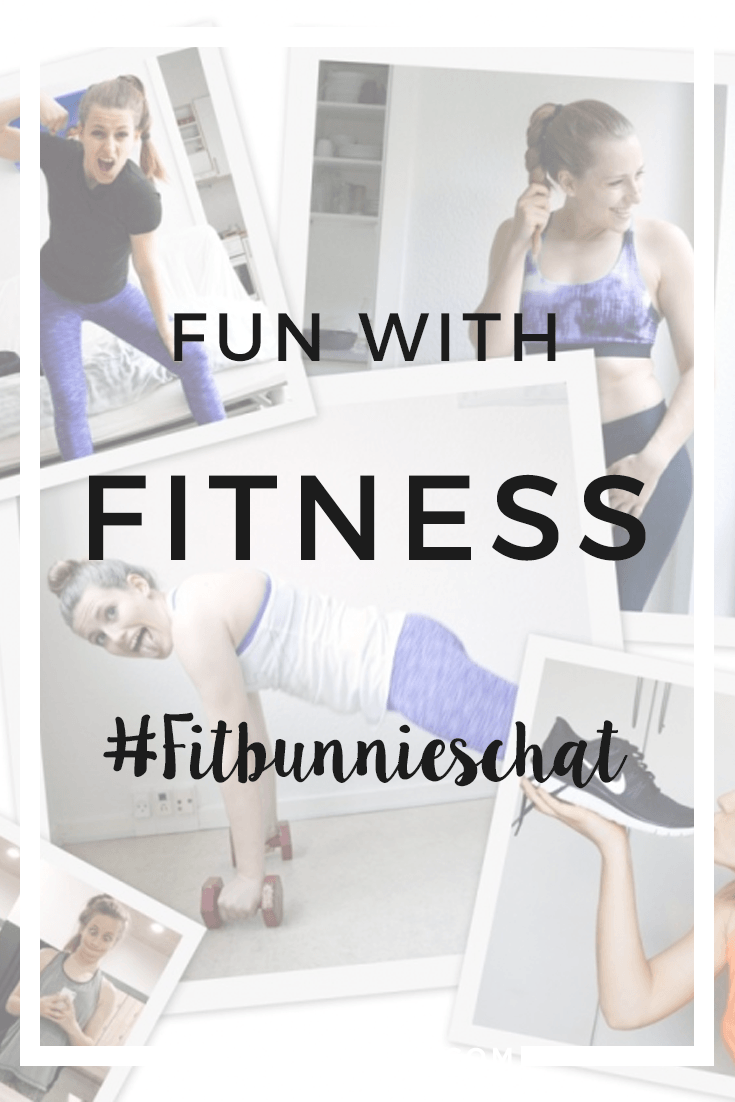 It's important to remember to have fun while you're trying to get fit. I've collected the best tips from the #Fitbunnieschat on how to make a healthy lifestyle more fun! Click through to read more, or repin to save for later!