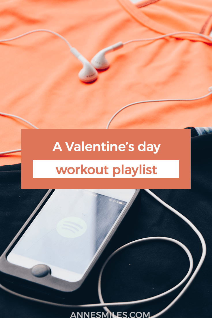 A Valentine's day workout playlist full of love songs to get you pumped #workout #valentinesday #playlist