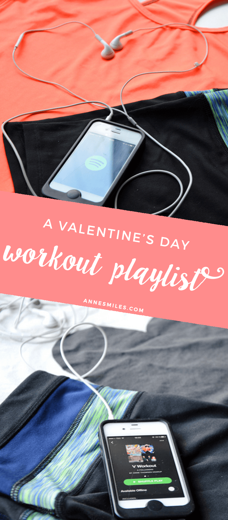 A Valentine's day workout playlist full of love songs to get you pumped || Click through to listen, or repin to save for later!