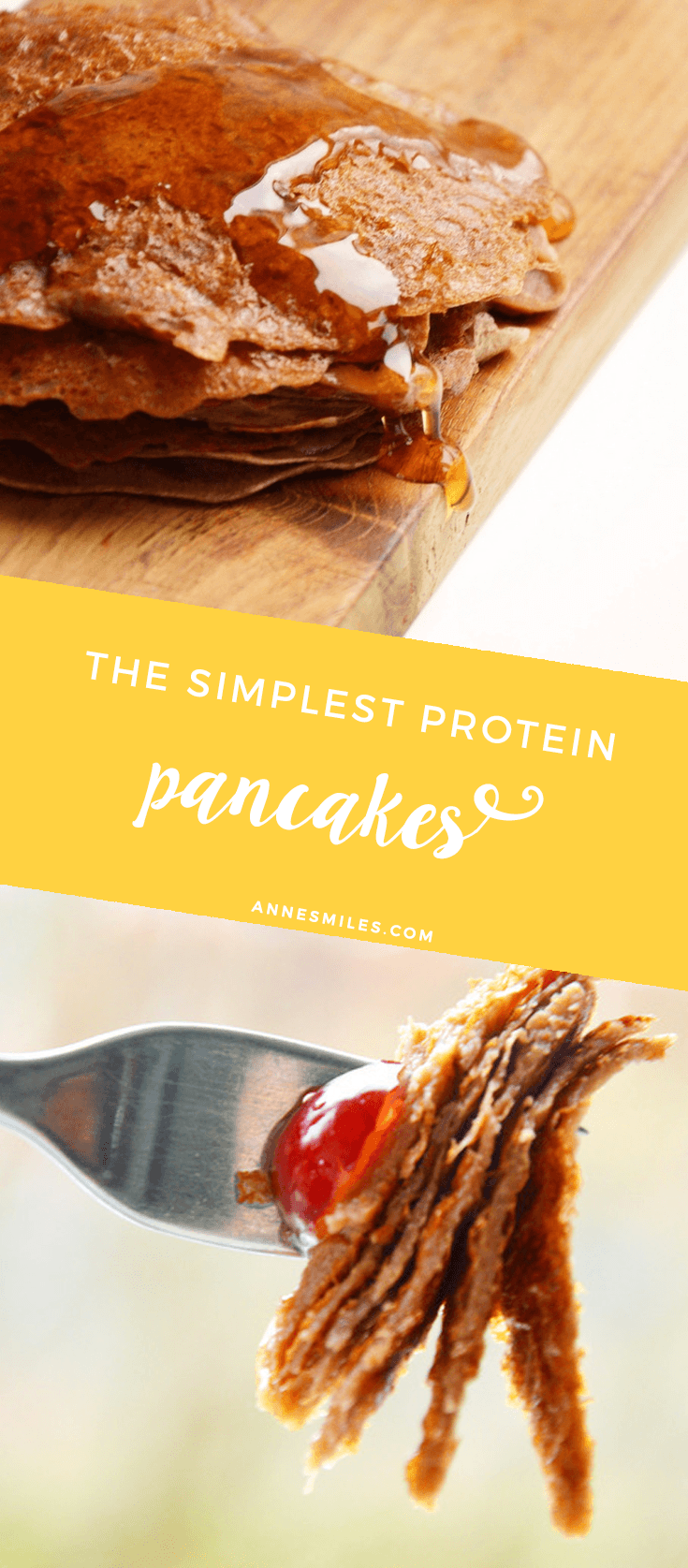 The Simplest Protein Pancake Mix