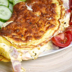 Easy Dinners: Empty-the-Fridge Omelette