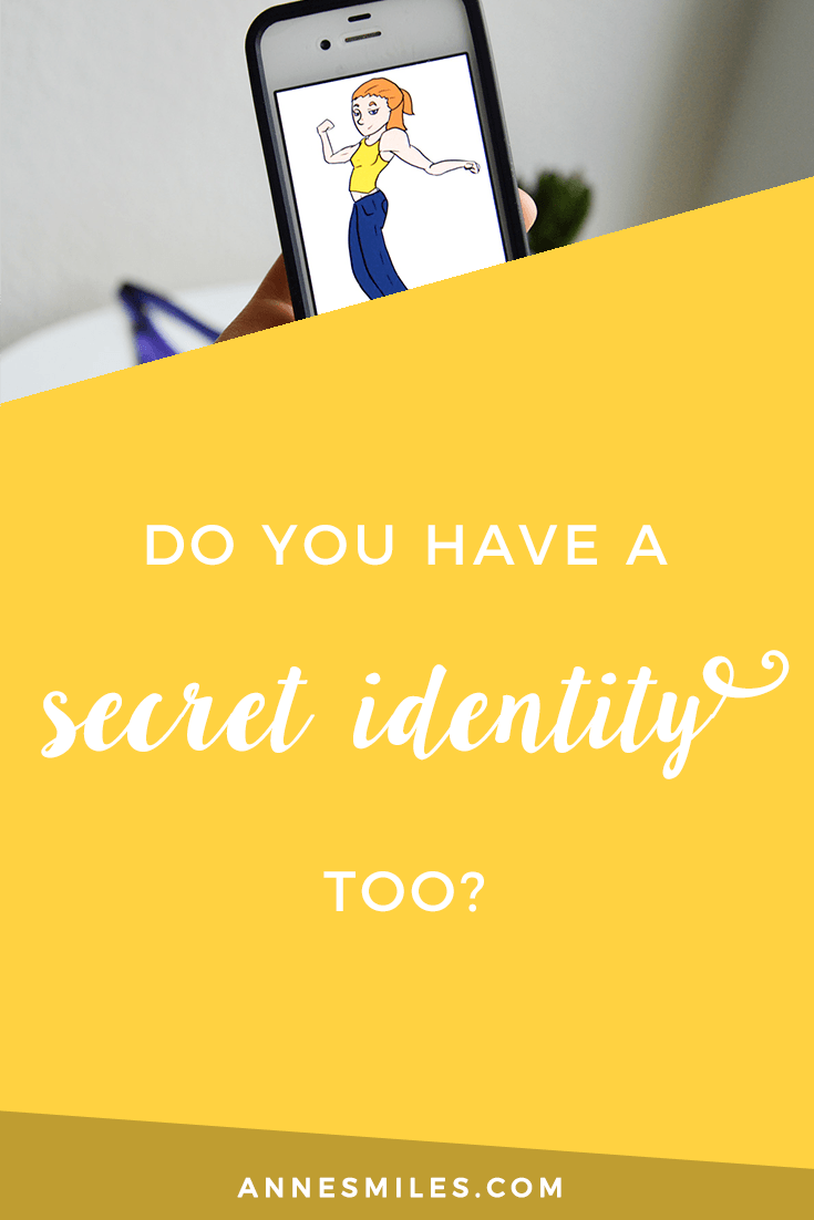 My secret blogging identity.. Should you tell people you\'re a blogger? || Click through to read more, or repin to save for later!