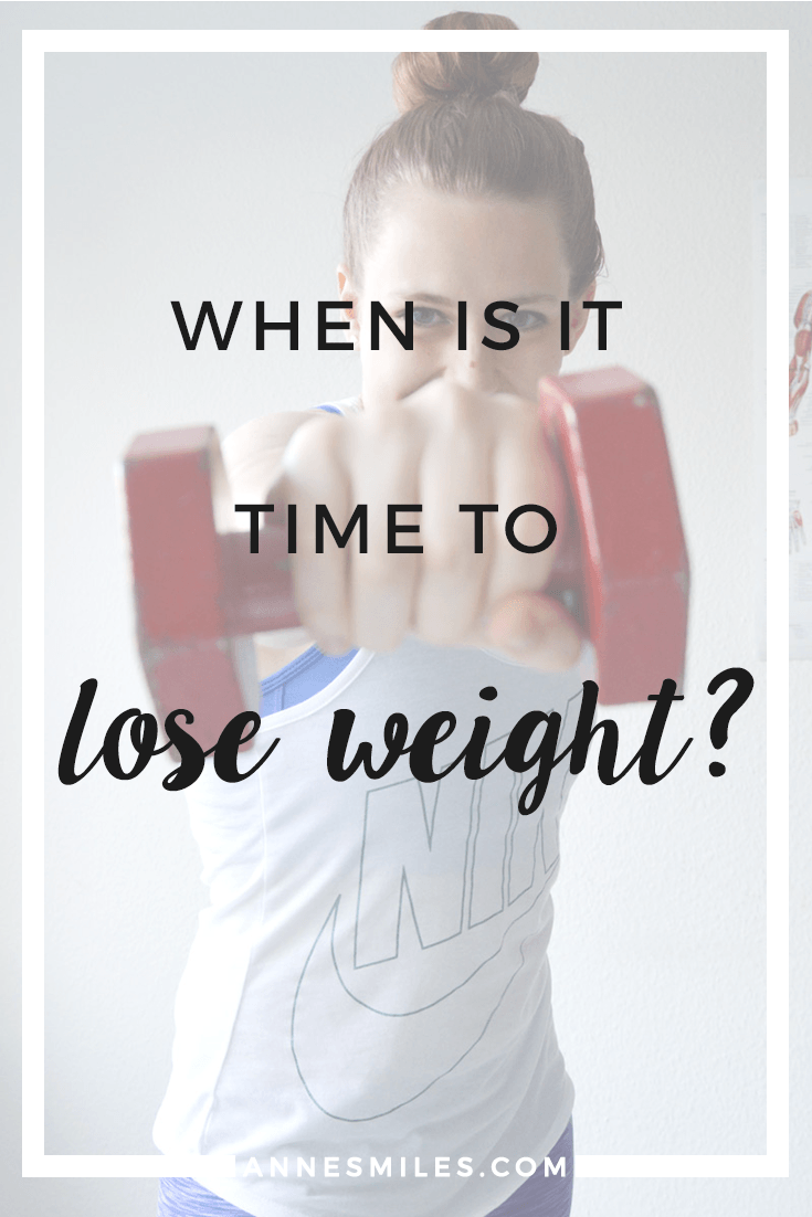 Time to Lose Weight!?