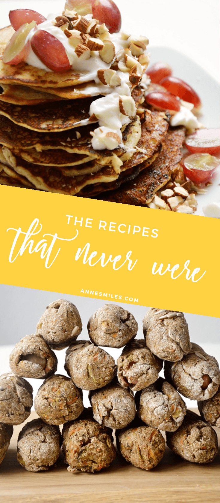 The recipes that never were - because not everything makes it onto the blog!