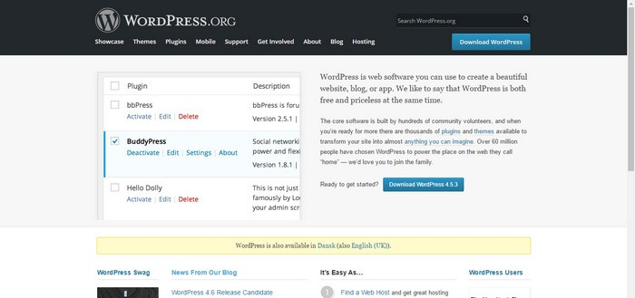 Wordpress org