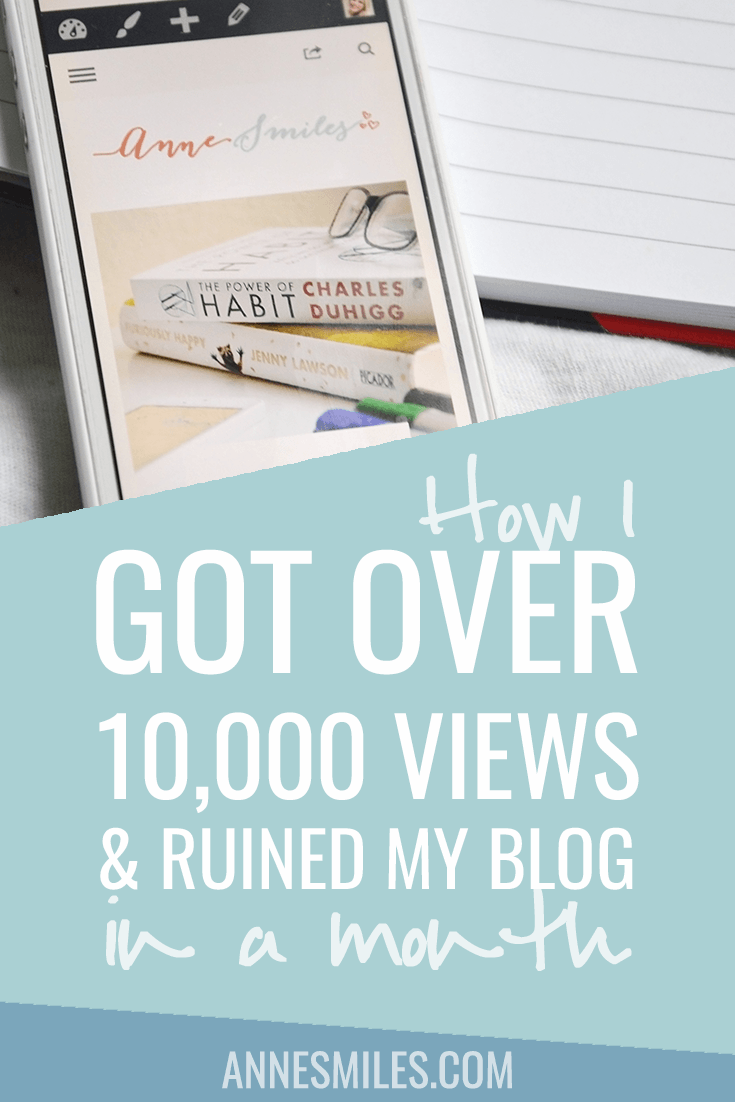 How I got over 10,000 views and ruined my blog in a month | July Blog Report