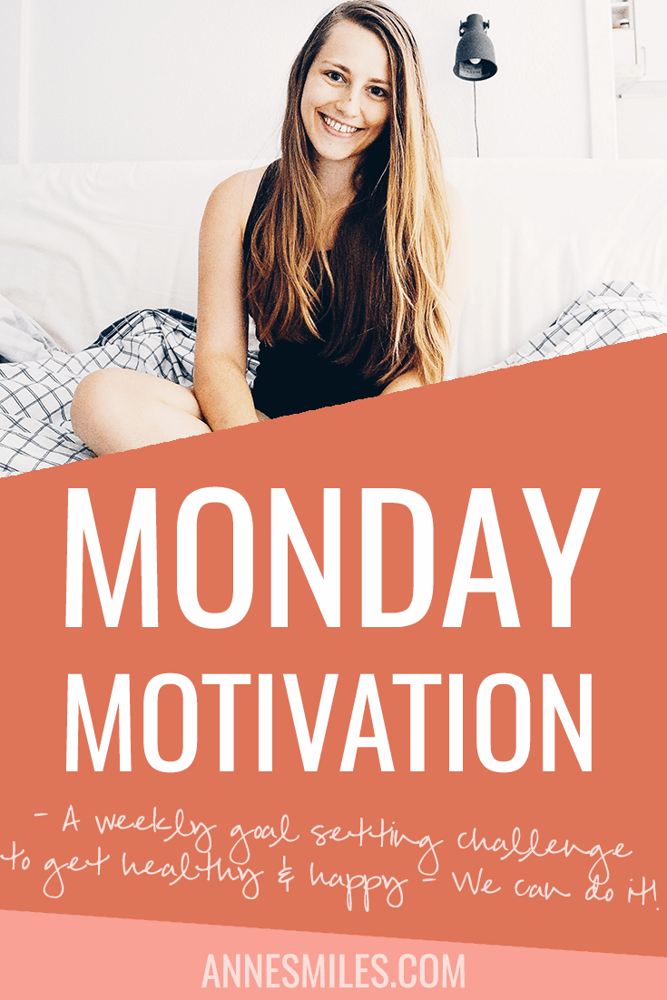 Need some Monday Motivation? Join this weekly goal setting challenge where we can support each other as we prepare for world domination!  Or just get healthy and happy. Click through to read more, or repin to save for later!