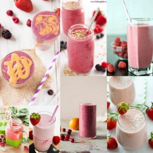 15 Healthy Pink Smoothies – Recipe Roundup
