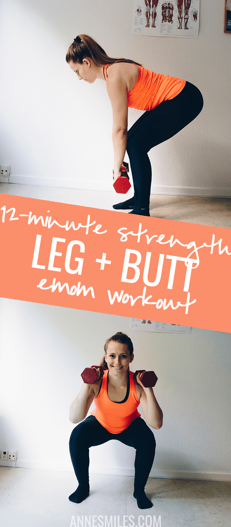 WTF is EMOM? This strong lower body workout shows you how to uses this system to create a great workout!