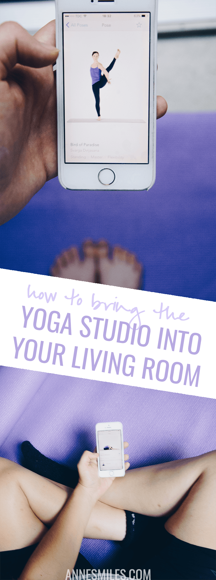 Do you want to practice yoga lead by a talented teacher (or you own classes) right from the comfort of your own home? Here's a review of my favorite yoga app #yoga