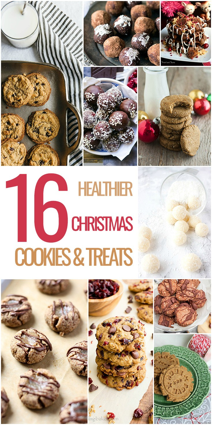 I've cooked up this list (pun intended). This is a list of 'healthier' cookies, cakes and other healthy christmasssy treats #cookies #christmas