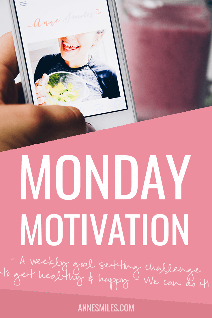 YES! It's time for some Monday Motivation, where I talk about the challenges and goals I want to achieve this week (in preparation for world domination!). Also, puppies.