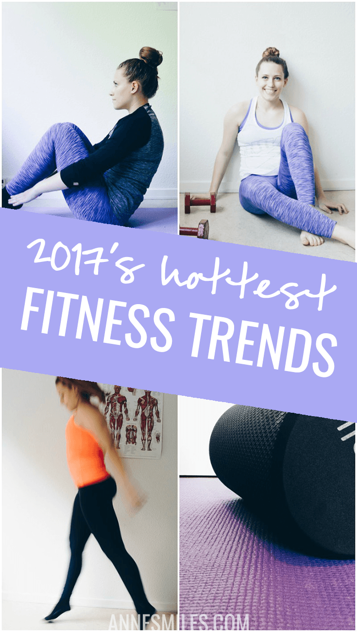 What's up with the fitness industry in 2017? Will squats ever go out of style? Here's the ACSM's health and fitness trends for 2017! #fitness #health