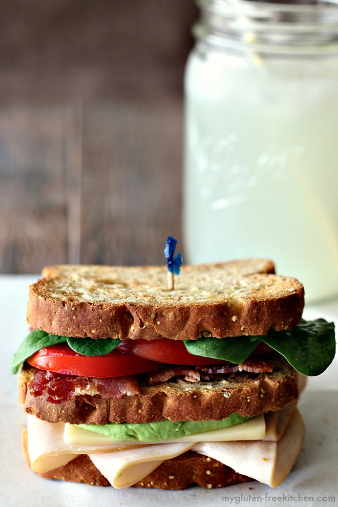 Or how about a California club sandwich? They always make a great lunch!