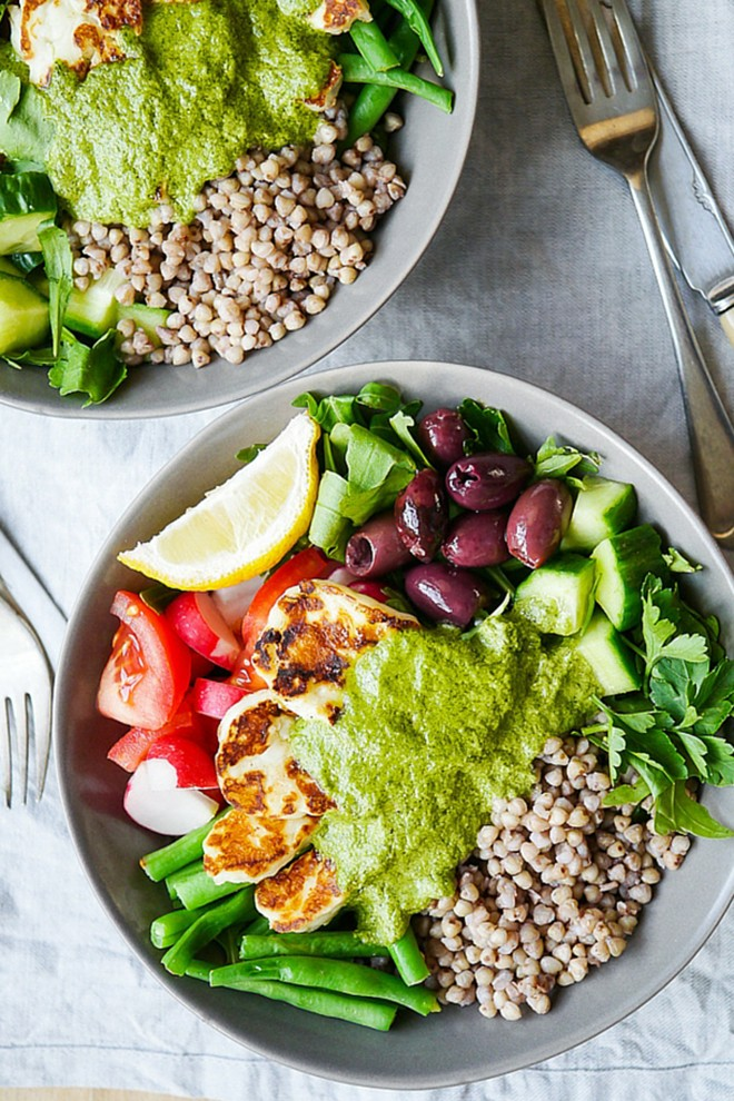 Here's another super tasty salad combination with buckwheat.