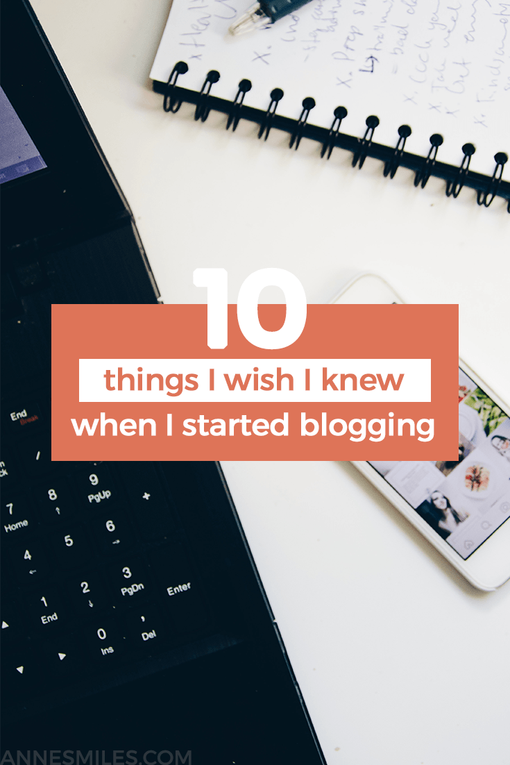 Lessons I've learned through who knows how long I've been blogging