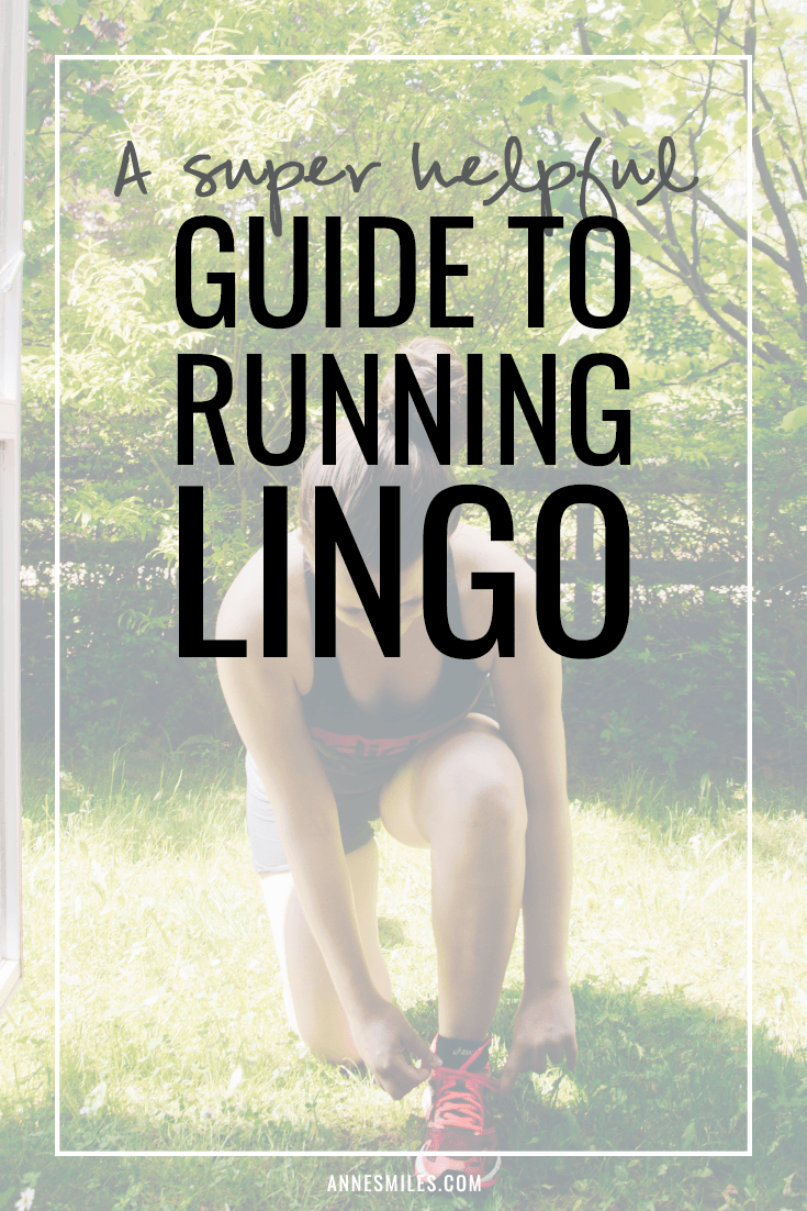 Explaning all the weird terms runners use, like LSD, fartlek and some basic running science! #running #run #runningtips