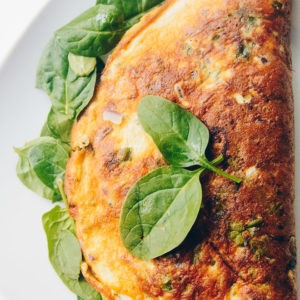 Spinach Omelette Recipe – A Simple, Healthy Meal