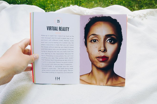 Picture of the book the girl guide by Marawa Ibrahim - Virtual reality and the power of make up and photoshop