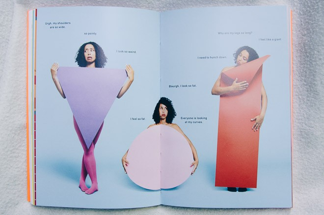 Picture of the book the girl guide by Marawa Ibrahim - Bodies come in all shapes and sizes!
