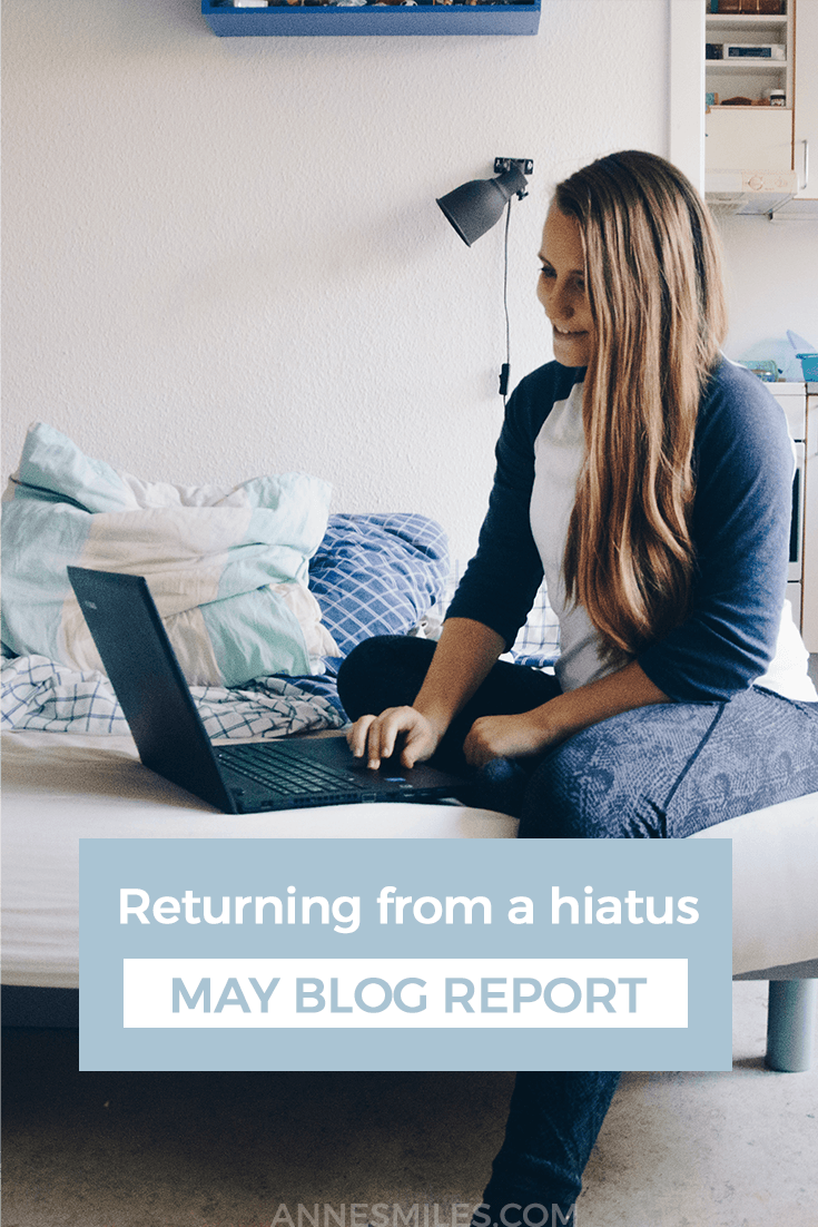 Blog Report for the First Half of 2017 - Returning From a Hiatus