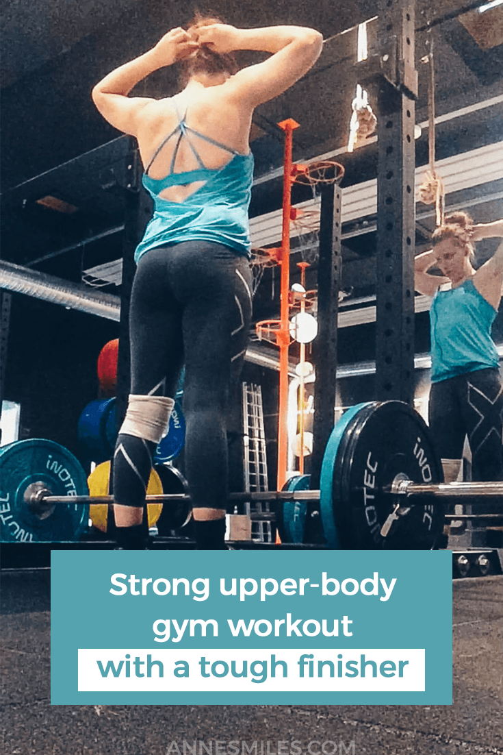 Try this strong upper body strength workout the next time you\'re at the gym!