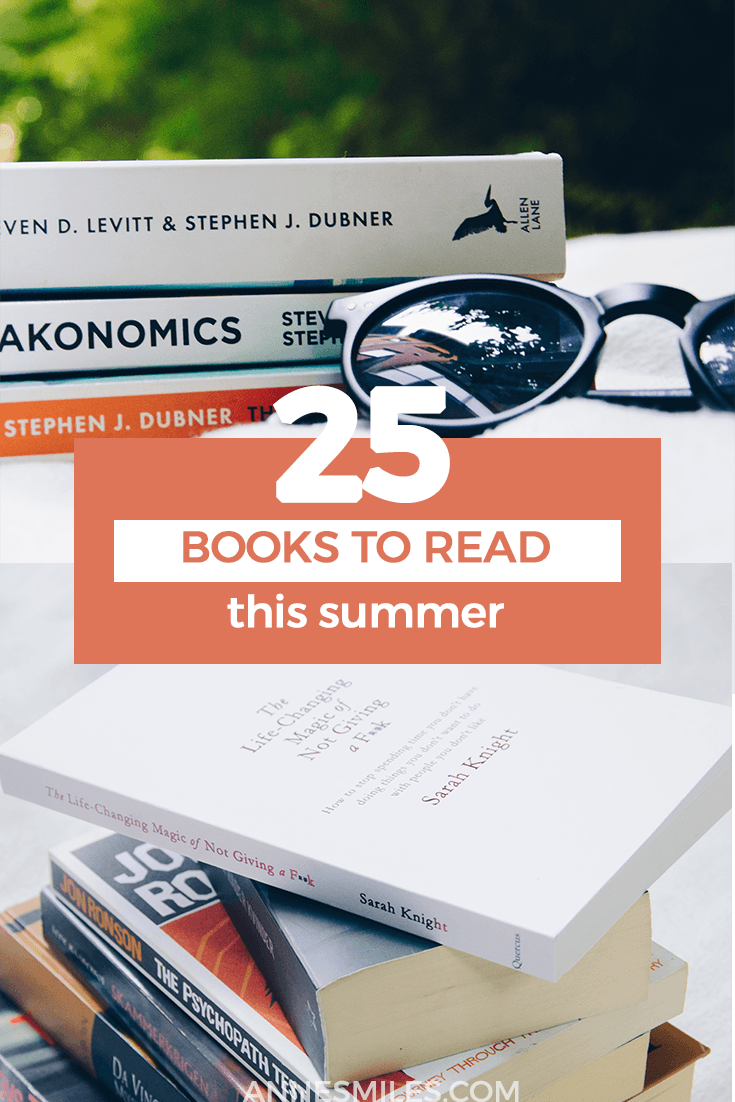 Summer has always been a time to lose myself in a book for me. Here\'s 25 books to read this summer! #tbr