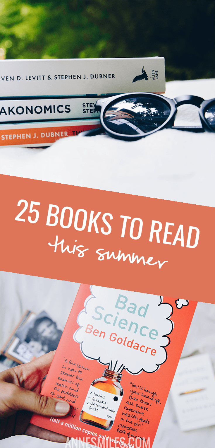 Summer has always been a time to lose myself in a book for me. Here's 25 books to read this summer! #tbr