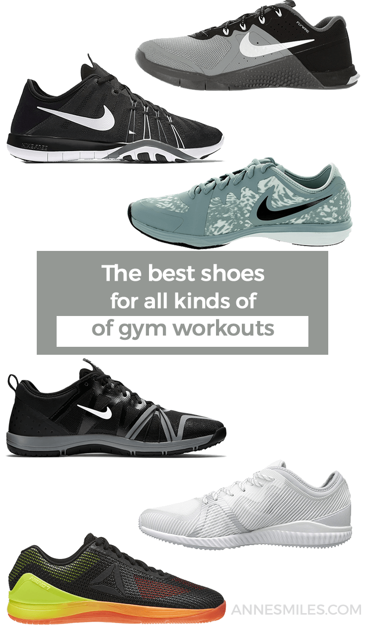 Here\'s my recommendations for the best shoes to wear to the gym if you do mixed kinds of workouts.