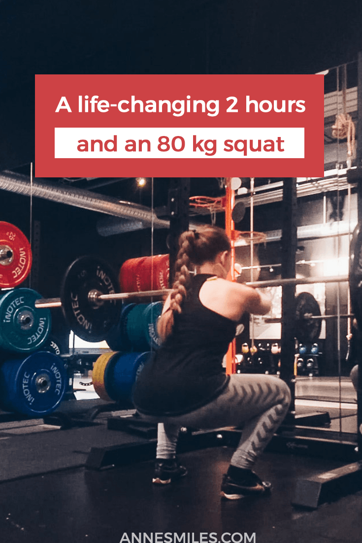 A life-changing 2 hours, an 80 kg squat and possibly, a new existence without chronic pain