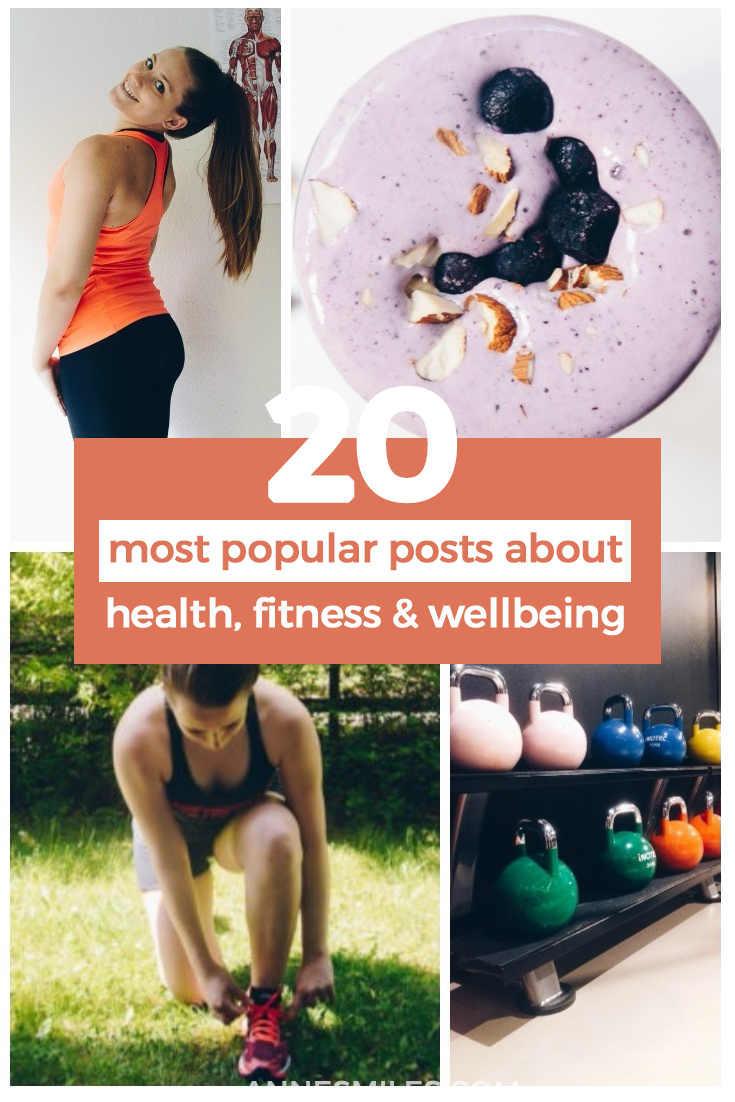 The best health, fitness & wellbeing posts of the year!
