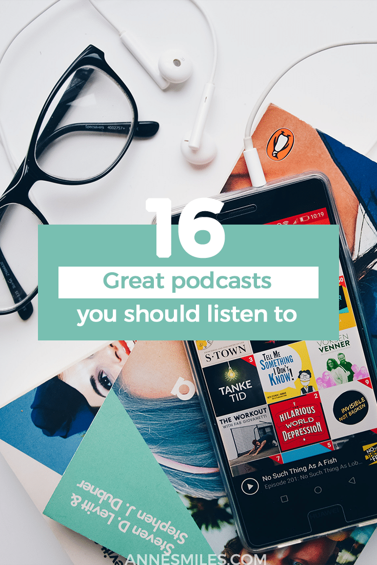 When I started listening to podcasts, I didn\'t know what wonders lay ahead. I only start listening to podcasts because I needed some entertainment at the gym that didn\'t require an internet connection. Since then I\'ve discovered so many wonderful ones, I wanted to pass my recommendations on to you. #podcasts #podcast