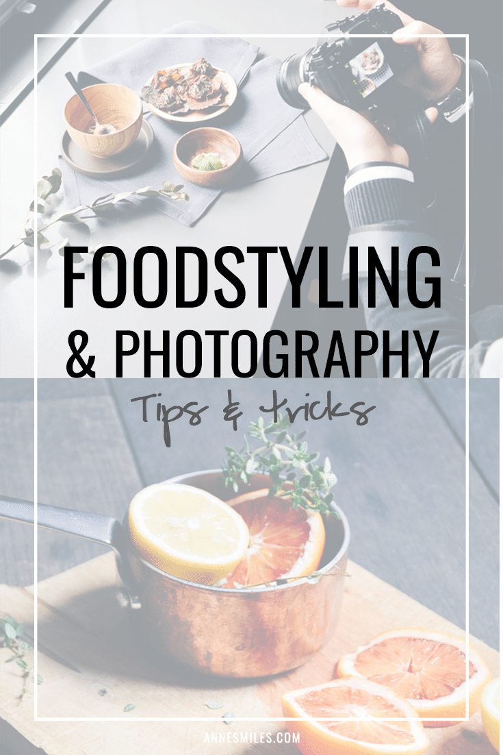 Foodstyling and photography tips & tricks - Blogger event