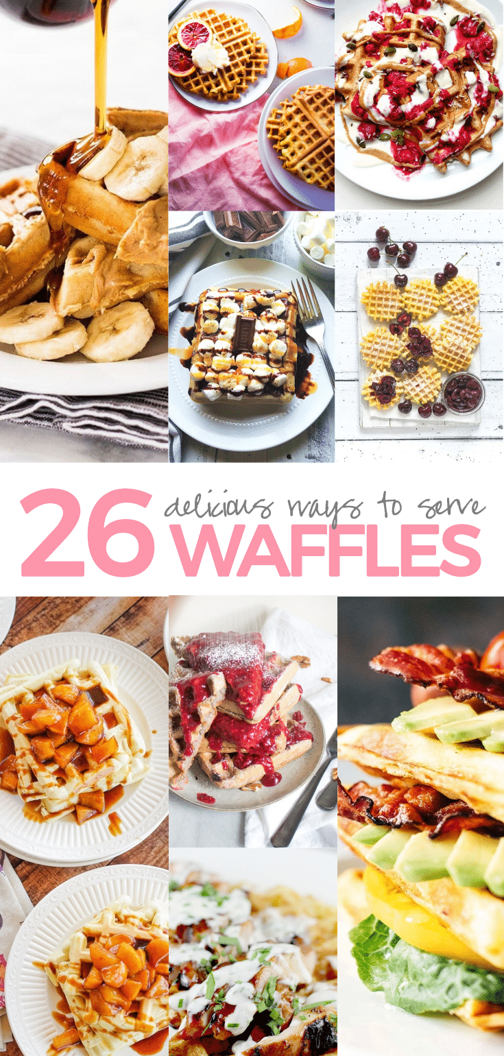 26 Creative and Delicious Waffle Toppings