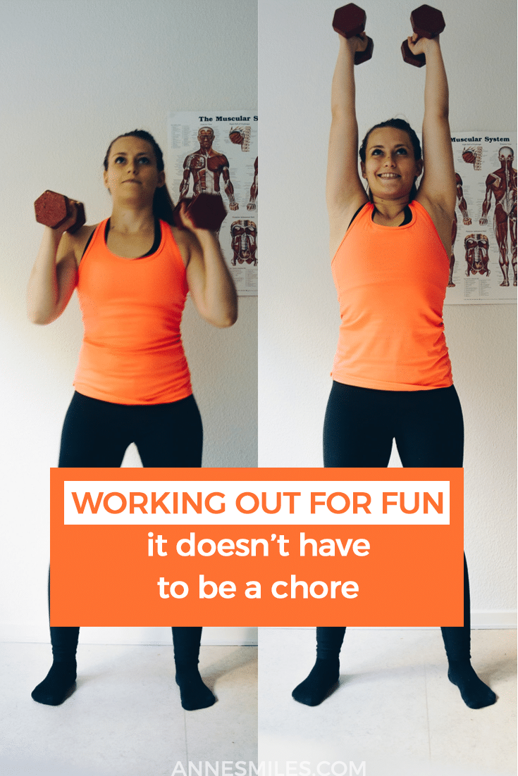 What's the point of adhering slavishly to a training program if you don't enjoy the process? If it's killing your motivation? Working out can be more than you think, and it can also be more fun than you imagine. #fitness #motivation #fitnesstips
