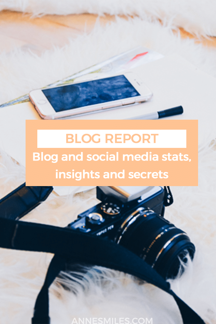 Monthly blog report taking a close look at blog traffic, boosting page views, growing a following, social media stats, trends and building something meaningful. #blog #blogging #blogtips