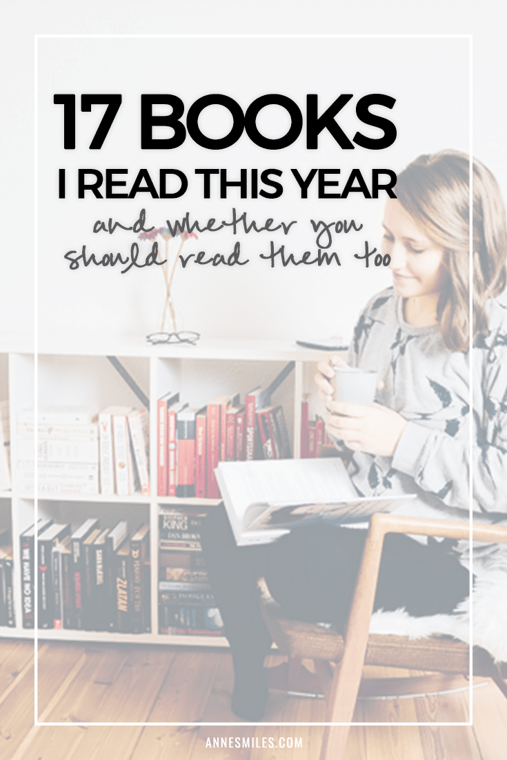Book Reviews: My Year in Books (pt. 1)