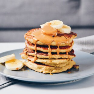 Healthy Oatmeal Banana Pancakes Recipe